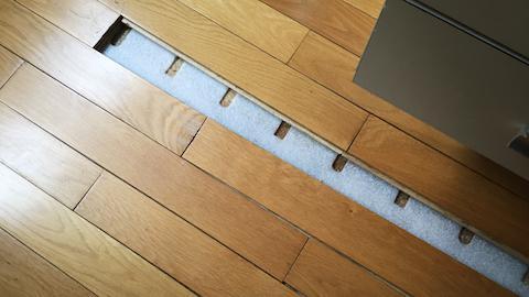 parquet massif flottant free bambou brut pr huil ethnik prix decoplus parquet with parquet. Black Bedroom Furniture Sets. Home Design Ideas